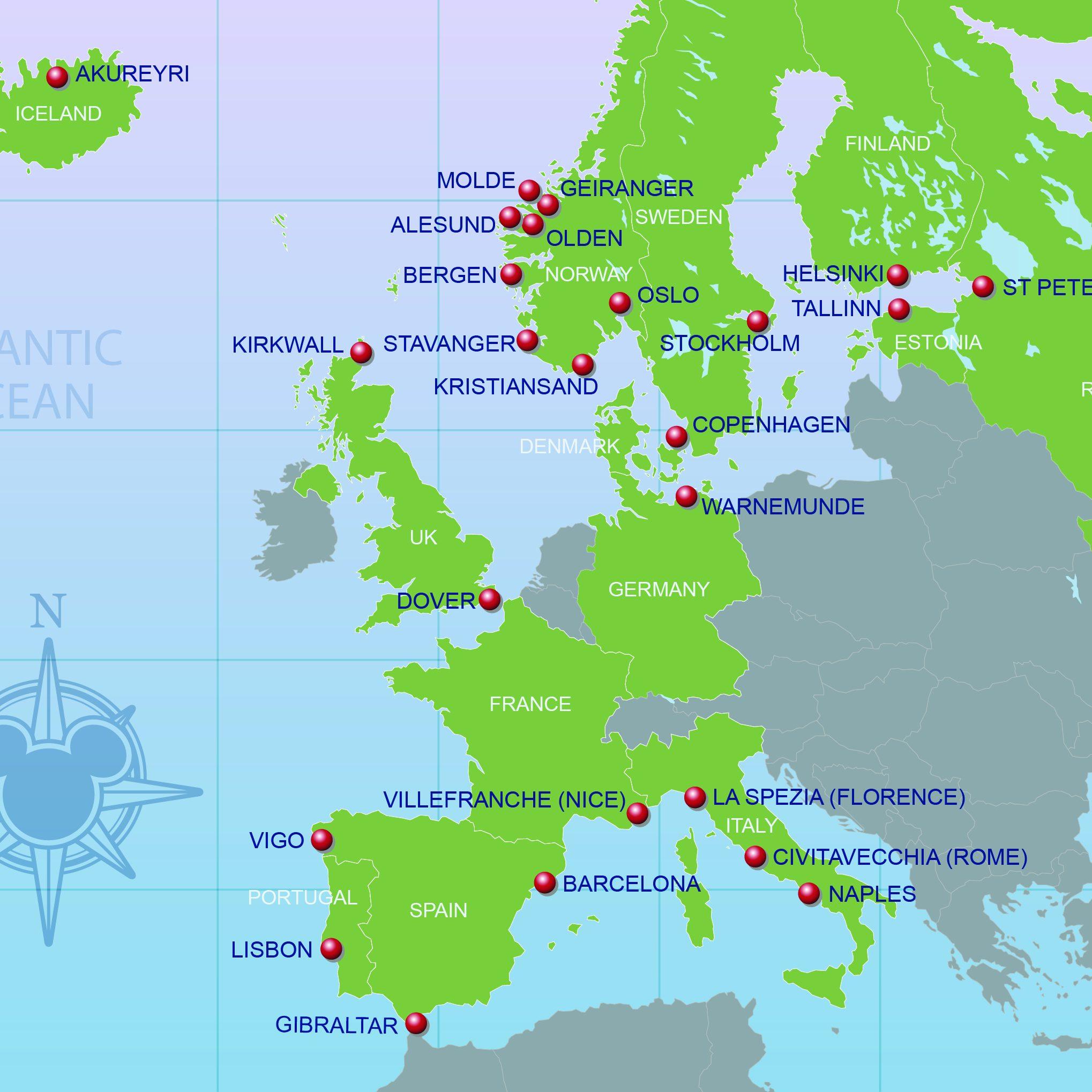 disney magic - northern-europe- os travel agency